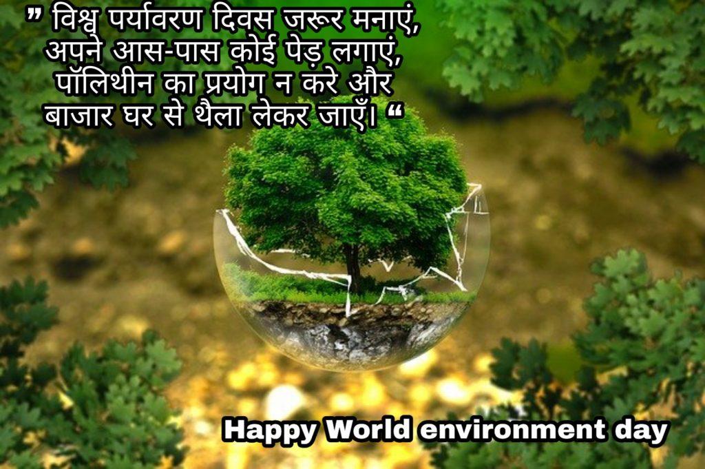 World environment day whatsapp status 2020