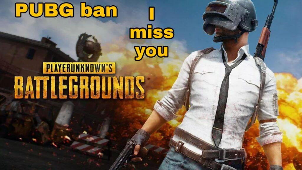 PUBG ban status
