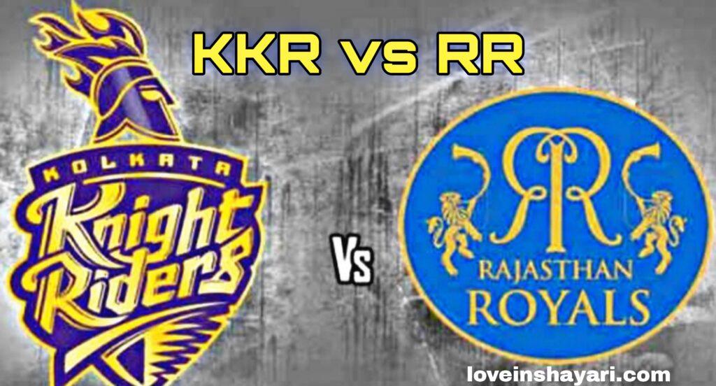 RR vs KKR status whatsapp status