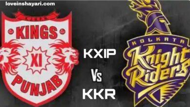 Photo of KXIP vs KKR status whatsapp status 2020