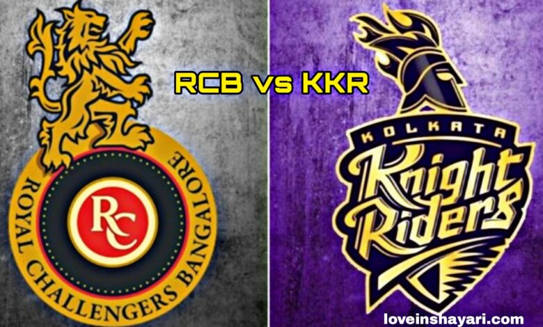 RCB vs KKR status whatsapp status