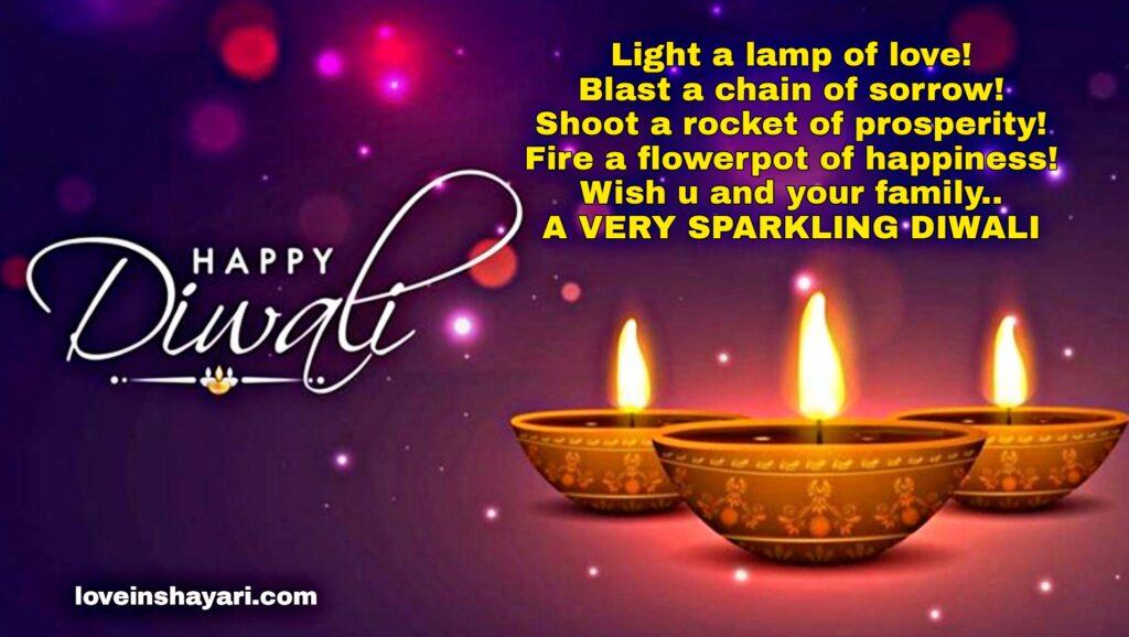 Diwali best shayri english